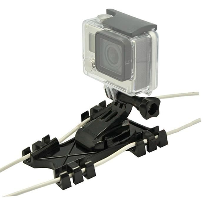 Kiteboard Mont boucle surf cerf,volant Line support adaptateur pour GoPro  Hero 5 4 3 + 3 2 1 session ,GO,FZ,ZJ,01