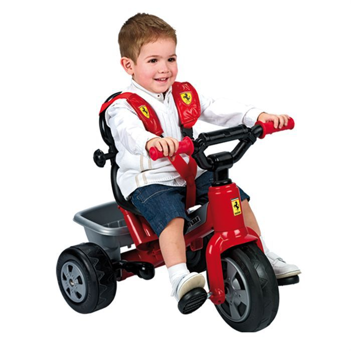 ferrari tricycle feber achat vente tricycle cdiscount. Black Bedroom Furniture Sets. Home Design Ideas