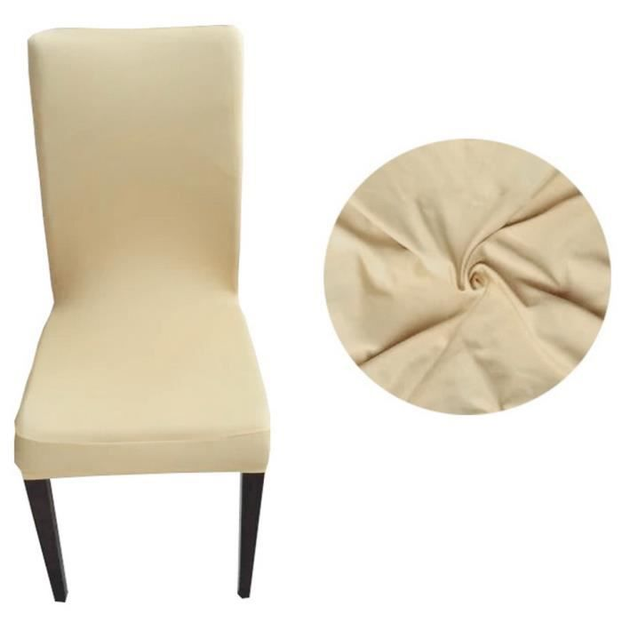 Housse de chaise chaise couverture si ge polyester for Housse couverture