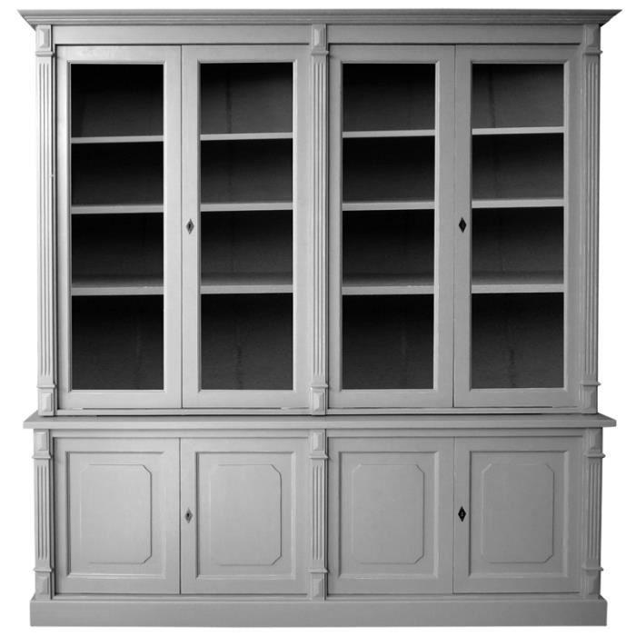 meuble vaisselier 4 portes en pin massif cir m achat. Black Bedroom Furniture Sets. Home Design Ideas