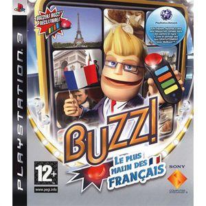 JEU PS3 BUZZ LE PLUS MALIN DES FRANCAIS / JEU CONSOLE PS3