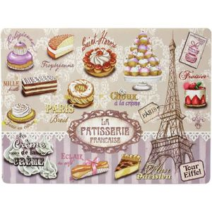 Set de table paris achat vente set de table paris pas for Sets de table plastique