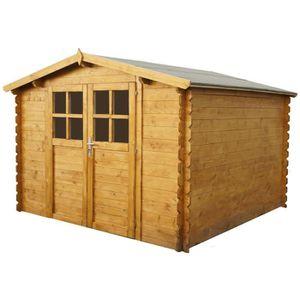 abri de jardin en bois 9m2 achat vente abri de jardin en bois 9m2 pas cher les soldes sur. Black Bedroom Furniture Sets. Home Design Ideas