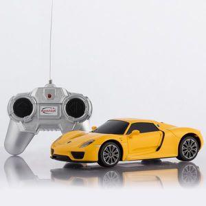 ACCESSOIRE DÉGUISEMENT Voiture telecommandée Porsche 918 Spyder jaune