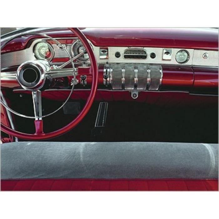 voitures poster reproduction tableau de bord voiture classique 60 x 80 cm achat vente. Black Bedroom Furniture Sets. Home Design Ideas