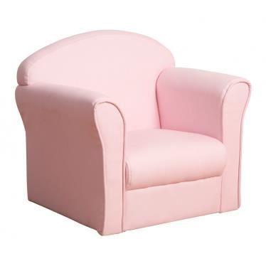 Mini fauteuil enfant rose en tissu et coton achat vente fauteuil canap - Ou acheter un canape ...