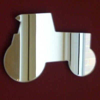 Tracteur mirror 20 cm x 14 cm achat vente miroir for Miroir acrylique incassable