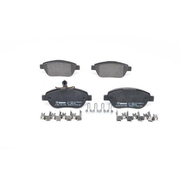 bosch kit de plaquettes de frein frein disque 986424596 achat vente filtre d 39 habitacle. Black Bedroom Furniture Sets. Home Design Ideas