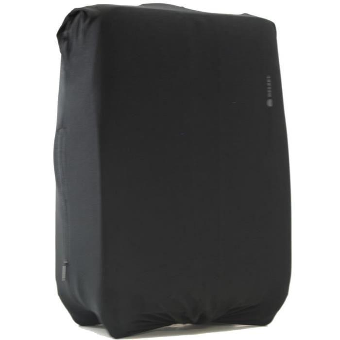 housse a valise extensible delsey m l noir achat vente housse protection pour valise