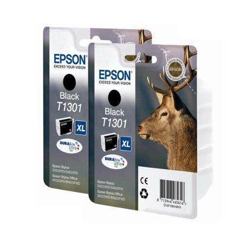epson epbundle35 cartouche d 39 encre twin pack noir prix pas cher soldes cdiscount. Black Bedroom Furniture Sets. Home Design Ideas