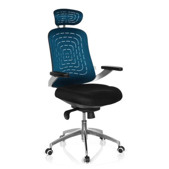 Chaise de bureau chaise pivotante genua pro b achat for Chaise de bureau bleu