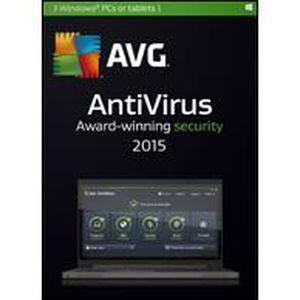 LOGICIEL À TÉLÉCHARGER AVG AntiVirus 2015 - 2 Postes - 2 ans