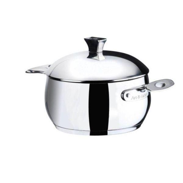 Art cuisine chaudron line avec couvercle achat vente for Art et cuisine casseroles