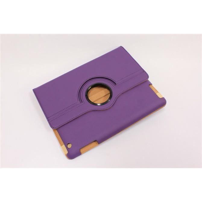Etui housse rotatif 360 pour ipad 2 3 4 violet prix for Housse pour ipad 3