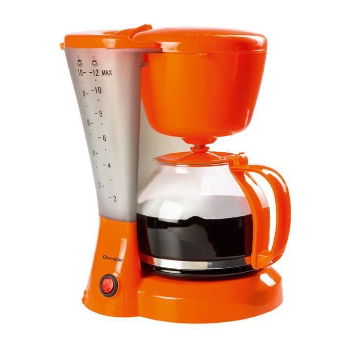 cafeti re lect orange 12 tasses achat vente. Black Bedroom Furniture Sets. Home Design Ideas