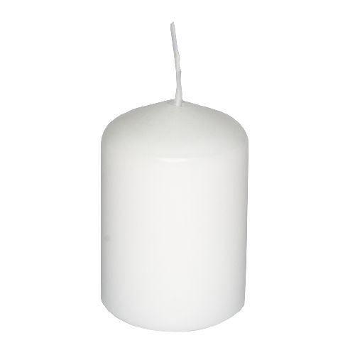 bougie cylindrique color e longue dur e blanc achat vente bougie d corative cdiscount. Black Bedroom Furniture Sets. Home Design Ideas