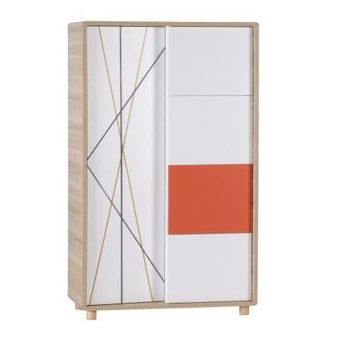 commode haute pour chambre ado evolve avec tableau magnetique achat vente armoire de. Black Bedroom Furniture Sets. Home Design Ideas