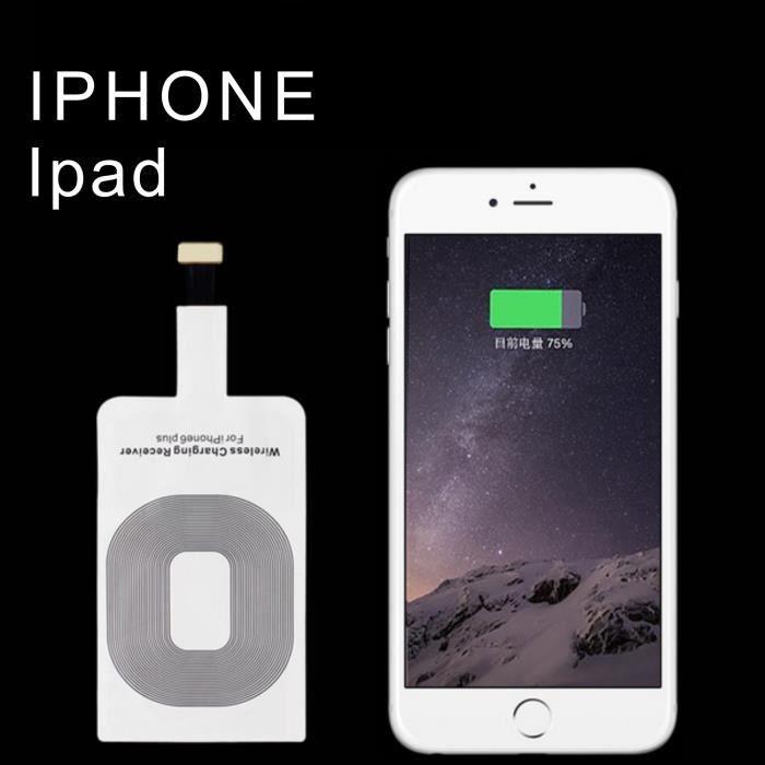 qi r cepteur chargeur sans fil module chargeur pour iphone 5 5c 5s 6 6s plus achat chargeur. Black Bedroom Furniture Sets. Home Design Ideas