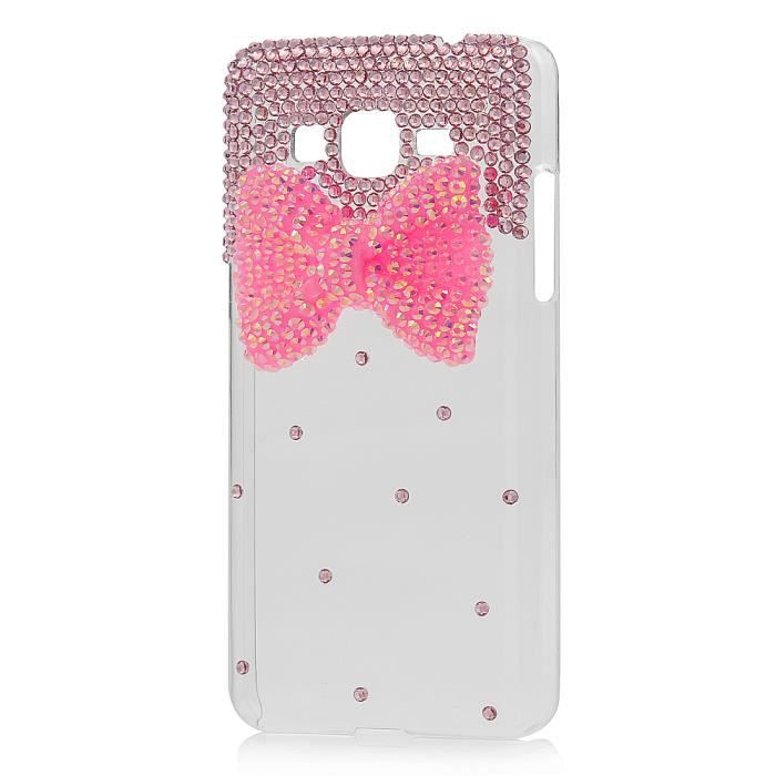 telephonie r coque samsung galaxy grand prime paillettes
