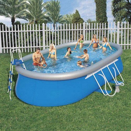 Piscine bestway ovale achat vente piscine bestway for Piscine bestway autoportee