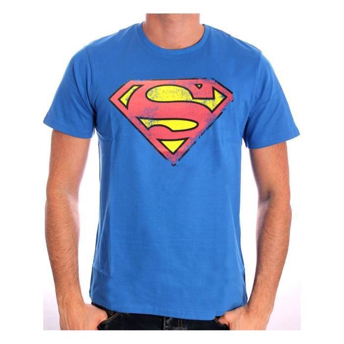 tee shirt homme superman. Black Bedroom Furniture Sets. Home Design Ideas