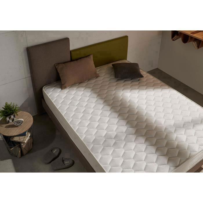 matelas ergo 140 x 190 cm mousse m moire blue latex 7 zones de confort 20 cm naturalex. Black Bedroom Furniture Sets. Home Design Ideas