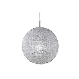 Suspension blanc achat vente suspension blanc pas cher for Lustre boule blanche