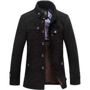 MANTEAU - CABAN Duffle coat Manteau en laine d'affaires Homme H...