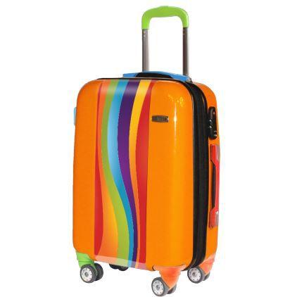 valise curved colors valise cabine originale orange. Black Bedroom Furniture Sets. Home Design Ideas