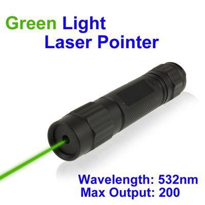 Pointeur laser vert 532nm achat vente t l m tre laser cdiscount for Pointeur laser vert mw