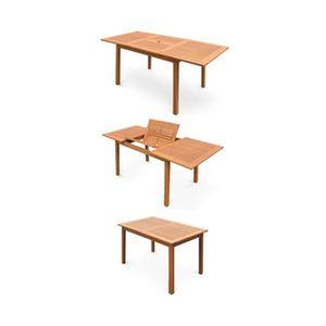Chaise allonger de jardin achat vente chaise allonger de jardin pas cher cdiscount Salon de jardin bois cdiscount