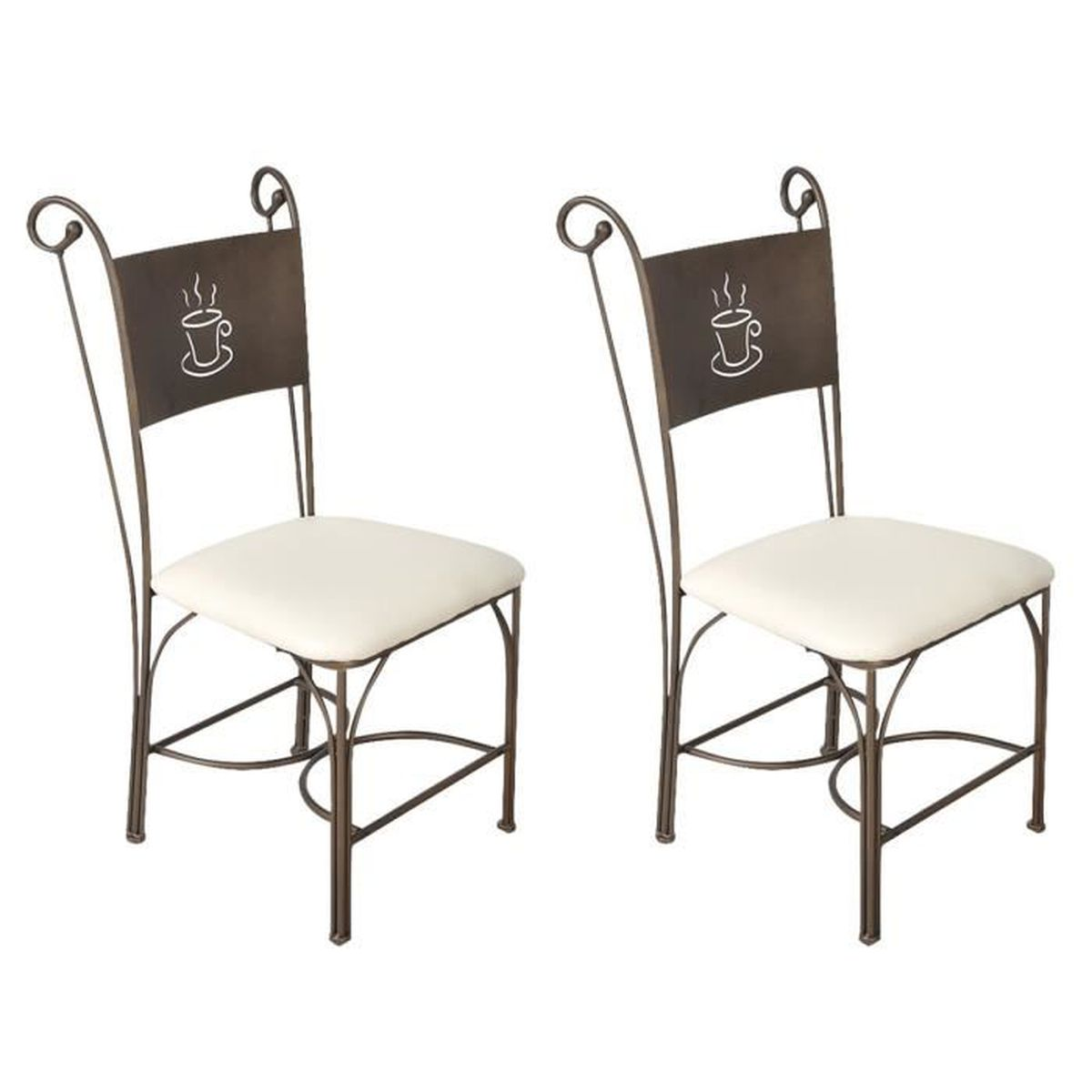 chaise metal loft achat vente chaise metal loft pas cher les soldes sur cdiscount cdiscount. Black Bedroom Furniture Sets. Home Design Ideas