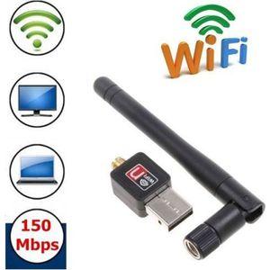 CLE WIFI - 3G Mini Adaptateur USB Wifi avec antenne pour PC  150