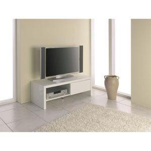 Meuble tv longueur 110 achat vente meuble tv longueur for Meuble h 110