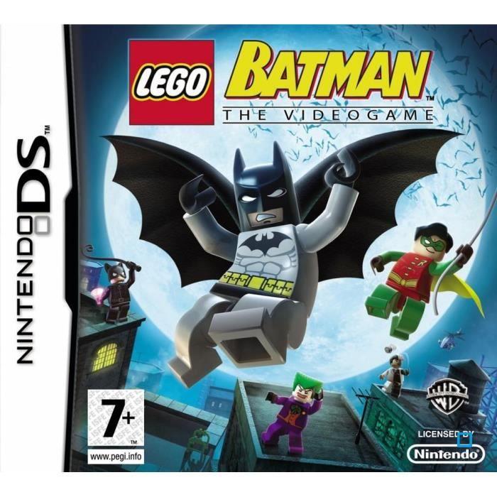 Lego batman jeu console ds achat vente jeu ds dsi lego batman ds cdiscount - Jeux de lego sur jeux info ...