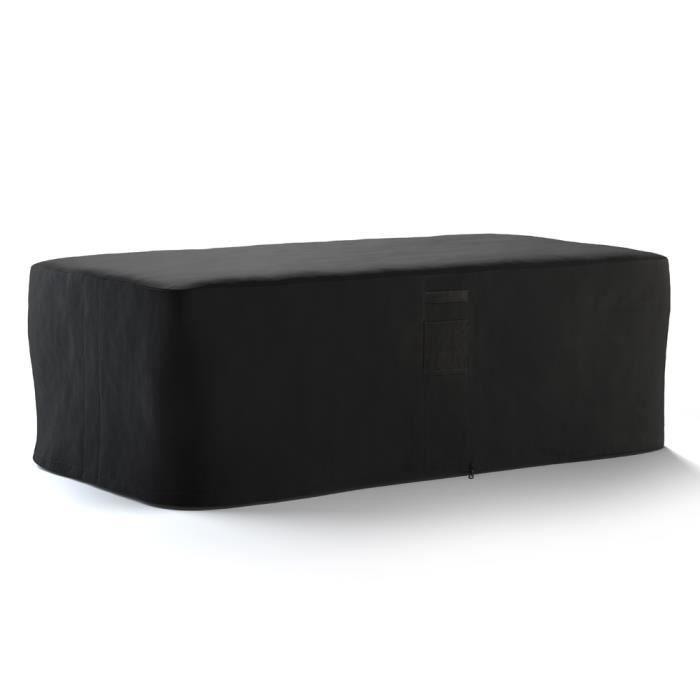 housse pour table de jardin confort rectangulaire 270cm. Black Bedroom Furniture Sets. Home Design Ideas