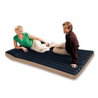 matelas airbed intex camping 2 places 193x127x24cm achat vente lit gonflable airbed. Black Bedroom Furniture Sets. Home Design Ideas