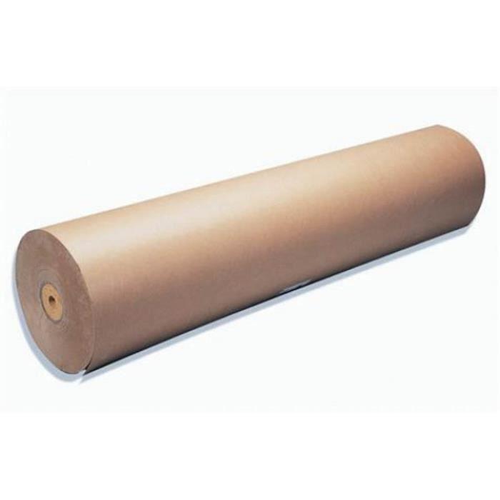Rouleau Papier En Kraft 70g Dimensions 1 X 350 M Achat Vente Papier Protection Cdiscount