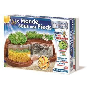 CLEMENTONI Le Monde Sous Nos Pieds