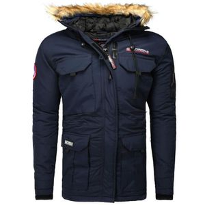 PARKA Parka hiver Geographical Norway Parka Bailey bleu