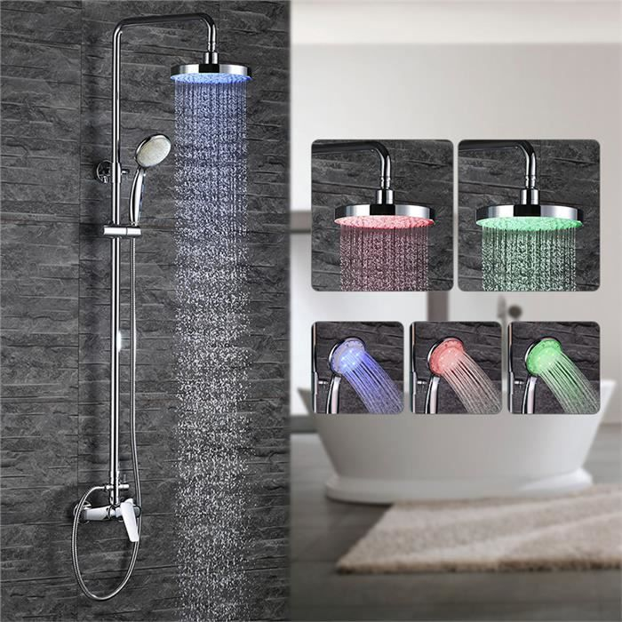 homelody colonne de douche led colonne douche mitigeur de. Black Bedroom Furniture Sets. Home Design Ideas