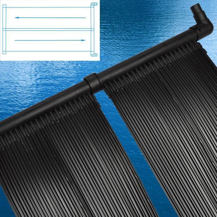 Magnifique chauffage solaire pour piscine pvc achat for Chauffage bois pour piscine