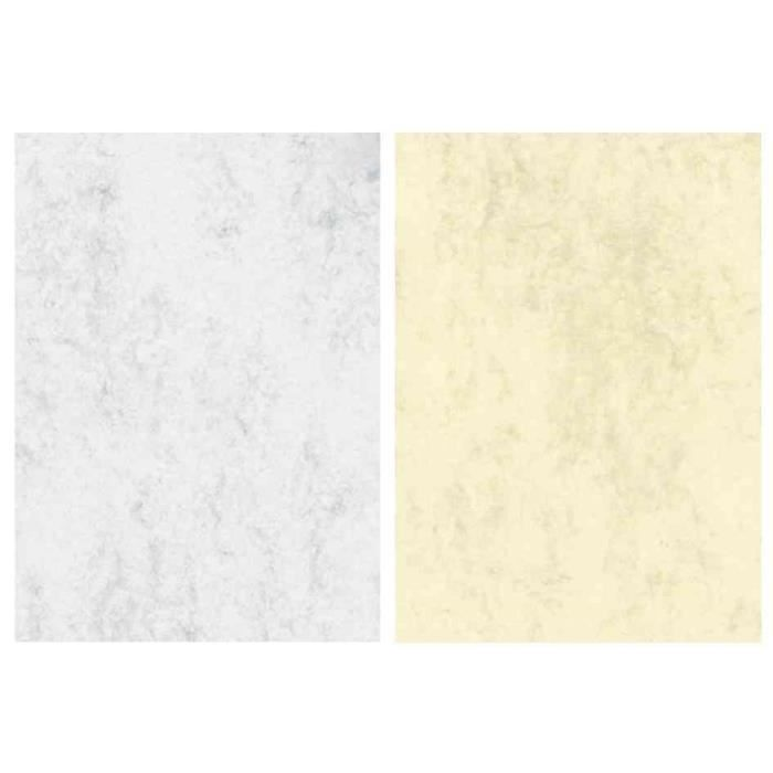 papier marbr a4 50 feuilles gris clair prix pas cher. Black Bedroom Furniture Sets. Home Design Ideas