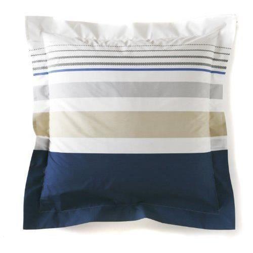 blanc des vosges taie 50 x 73 palais royal navy achat vente taie d 39 oreiller soldes d. Black Bedroom Furniture Sets. Home Design Ideas