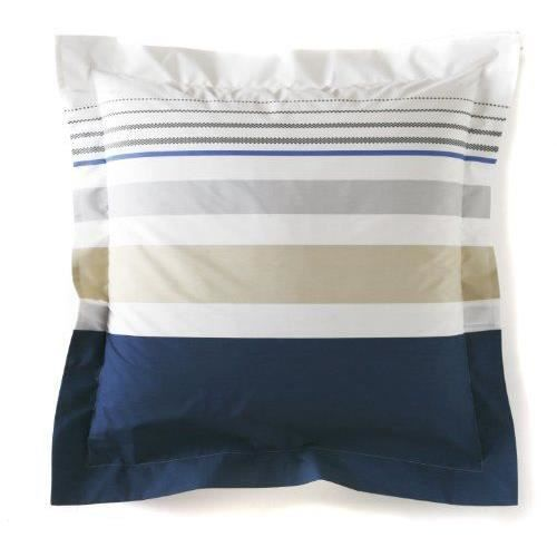 blanc des vosges taie 50 x 73 palais royal navy. Black Bedroom Furniture Sets. Home Design Ideas