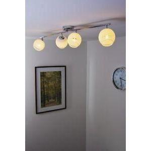 luminaire lustre lampe 4 spots sur rail lustre lam achat. Black Bedroom Furniture Sets. Home Design Ideas