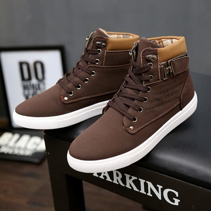 chaussures montantes mode chaussure homme basket homme. Black Bedroom Furniture Sets. Home Design Ideas
