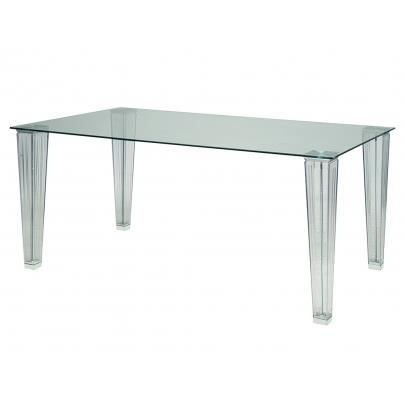 Table manger martine 6 couverts plateau en v achat vente table a ma - Discount table a manger ...