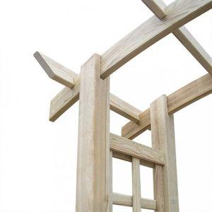Arche jardin en bois achat vente arche jardin en bois for Arche de jardin en bois