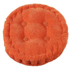 Coussin rond 50 cm achat vente coussin rond 50 cm pas cher cdiscount - Coussin de chaise orange ...